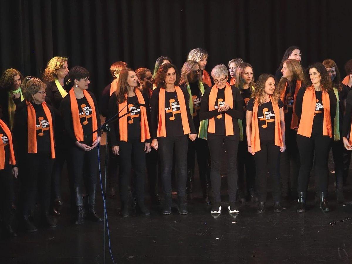 GOSPEL BARCELONA TO SING INGLES- TUESDAY