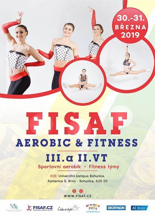 Fisaf Aerobic and Fitness 2019 - II. a III. vkonnostn tda
