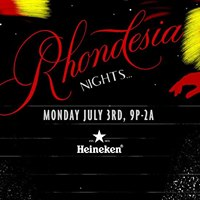 Rhondesia Nights w Tiger &amp Woods Touch Sensitive  more