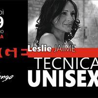 TECNICA UNISEX  con Leslie Jaime