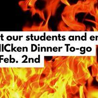 BBQ CHICken Dinner To-go