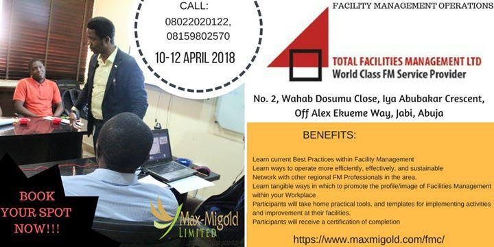 Facility Management Operations at Total Facilities Management LTD ...
