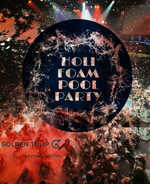 Holi Foam Pool Party
