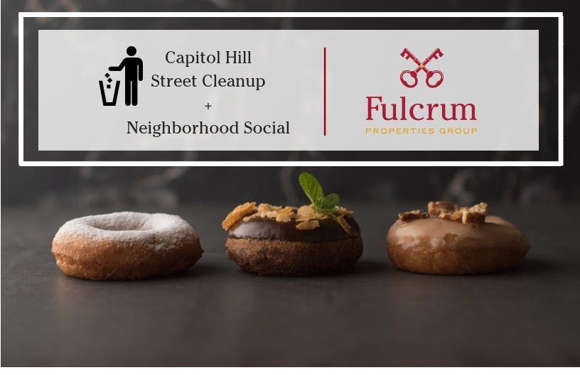 Capitol Hill Street Cleanup  Neighborhood Social