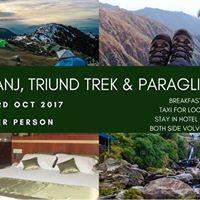 Trekking Camping &amp Paragliding  McLeodganj &amp Bir