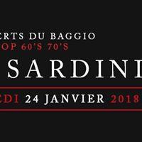 Les Sardiniers en concert le Mercredi 24 Janvier Rockn - Pop