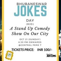 Bhubaneswar Jokes Day (BJD) A Stand Up Comedy Show On Our City
