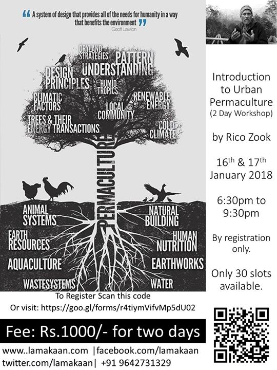 Introduction To Urban Permaculture 2 Day Workshop
