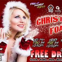 Christmas Foam - 100 Free Drinks &amp Shots