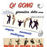 Corso di QI GONG ginnastica dolce alla palestra OLIMPO  CHERSCO