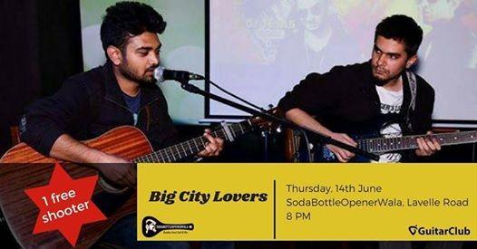 GuitarClub presents Big City Lovers