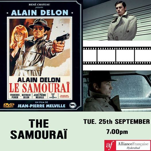 CIN CLUB  Le Samoura by Jean-Pierre Melville  September 25th