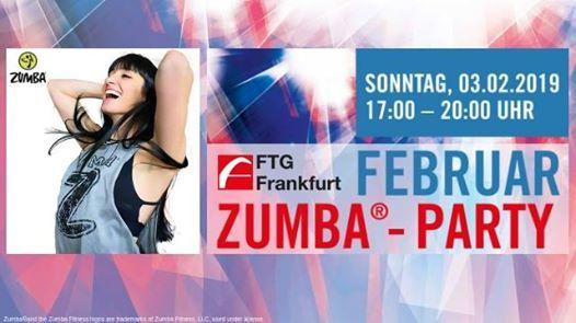 Zumba Party der FTG Frankfurt