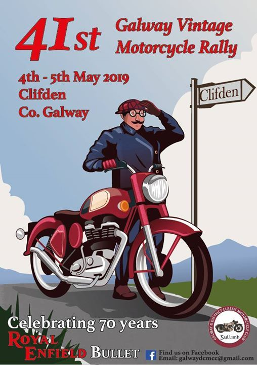 Galway Vintage Motorcycle Rally 2019