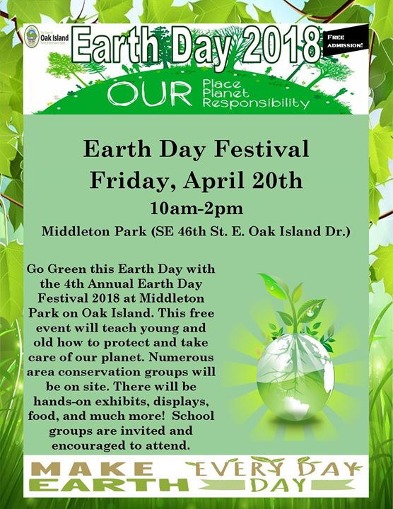 Image result for oak island earth day images