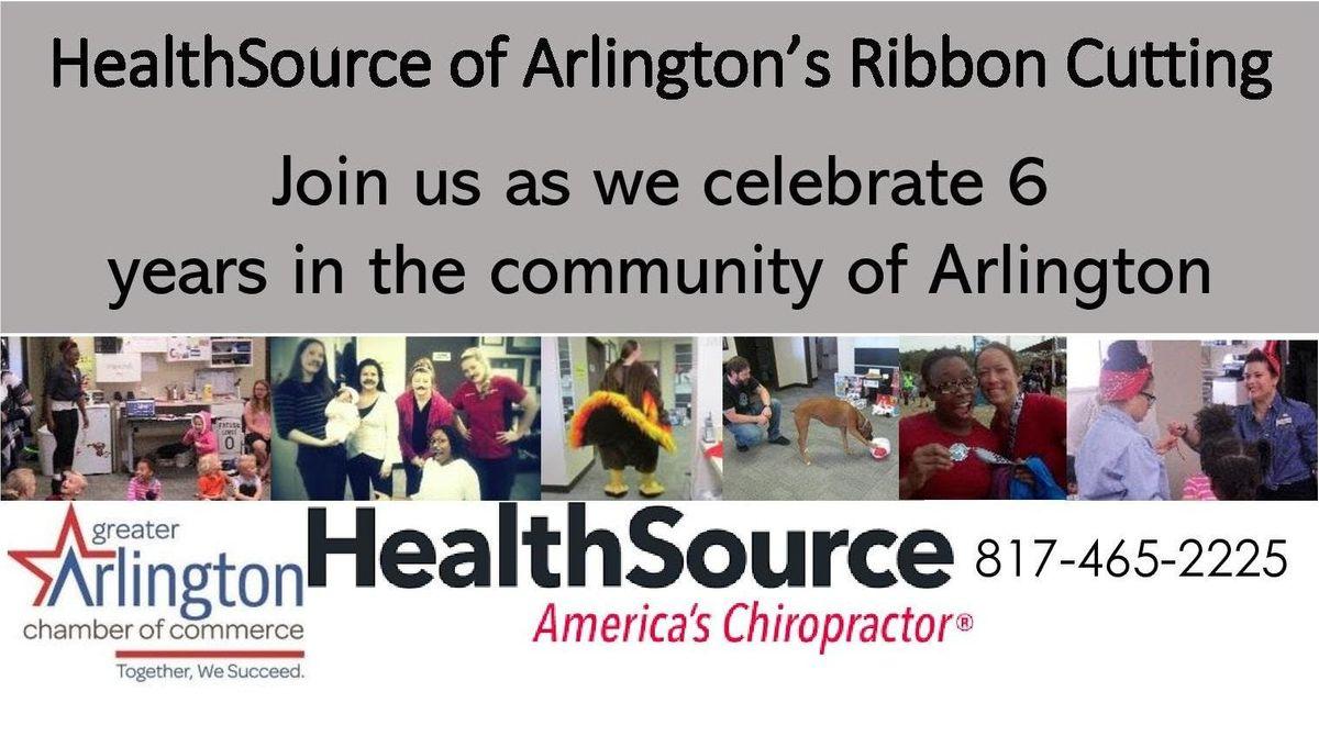HealthSource of Arlingtons Ribbon Cutting
