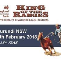 Regional Australia Bank King of the Ranges Stockmans Challenge