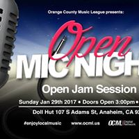 OCML Open Mic Night