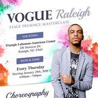 VOGUE Raleigh Dance Class