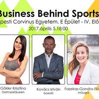 Business Behind Sports - lsport Karrier vagy zlet