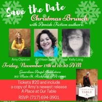 Christmas Brunch with Three Amish Fiction Authors