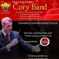 Cory Band in Concert - Supported by Southampton Youth Brass Band