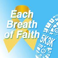 Each Breath of Faith 5k Fun Run &amp 3k Family and Dog Walk