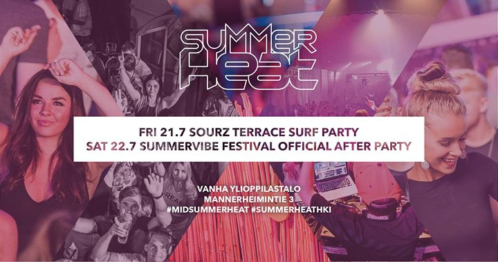 Summer Heat 21.7 & 22.7 - Summervibe Festival Official Afterparty