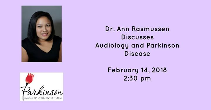 Dr. Rasmussen- Audiology and Parkinson Disease