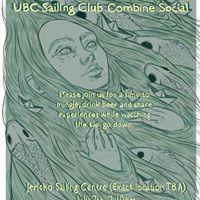 UBC Aqua Society &amp UBC Sailing Club Combined Social