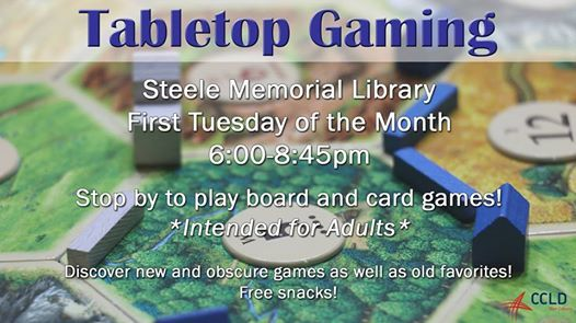 Steele - Tabletop Gaming for Adults
