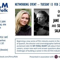 FILM Suffolk Nights - Q&ampA with Jane Gull and Susanne Salavati