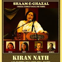 Shaam-e-Ghazal with Kiran Nath in Boston
