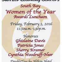 Switzer Learning Centers 2016 Women of the Year Luncheon