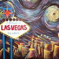 Starry Night Vegas Sign Painting at Wine and Canvas