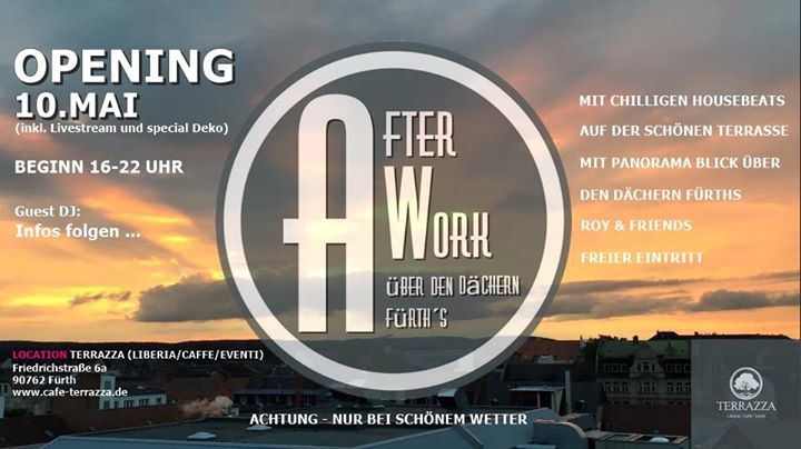 Opening 2018 Afterwork über Den Dächern Fürth S At