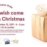 The Fish Christmas Wish at Chick-fil-A Lassiter