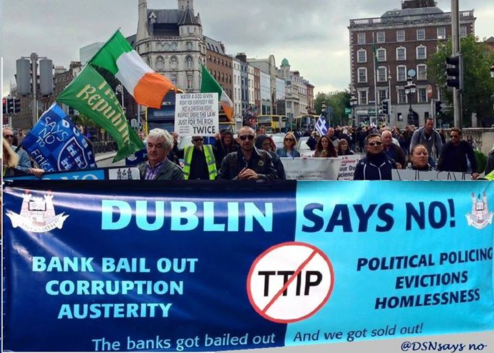 Dublin Says No Week 179 March Against Austerity Bank BailOuts Corruption