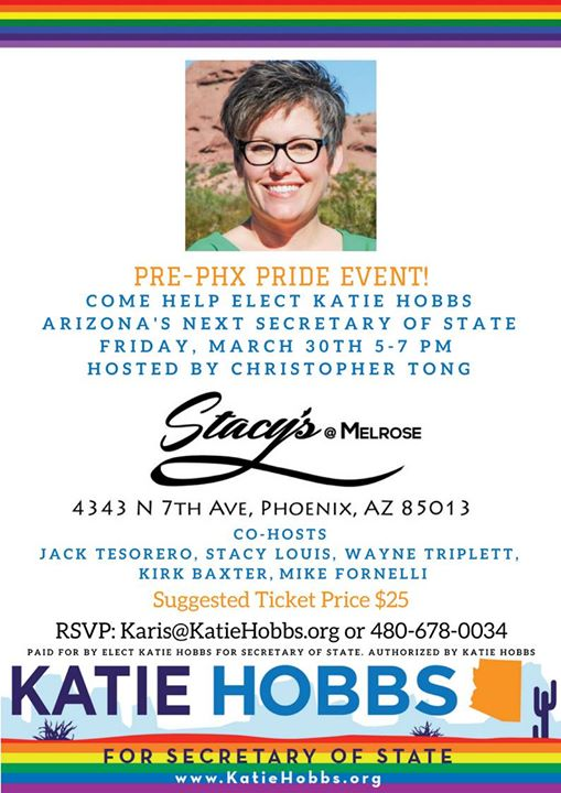 Katie hobbs meet and greet happy hour at stacys at melrose phoenix katie hobbs meet and greet happy hour m4hsunfo