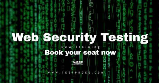 Web Security Testing Training