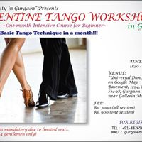 Argentine Tango Class at Gurgaon one-month intensive course