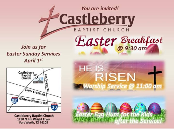 Easter Sunday at Castleberry