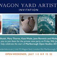 Preview Party Marlborough Open Studios 2017