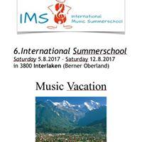 International Summer School Interlaken 2017