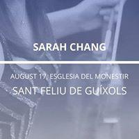 Sarah Chang in Sant Feliu De Guxols
