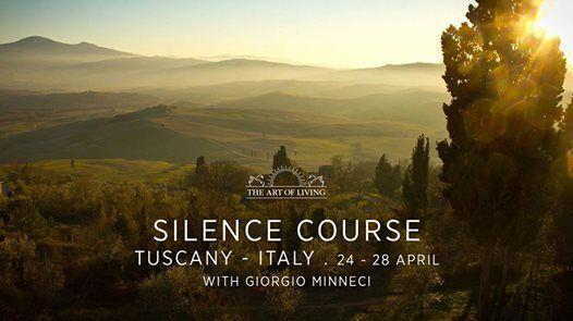 SILENCE COURSE in Toscana