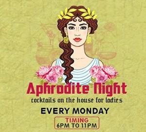 Aphrodite Night at Blanco every Monday