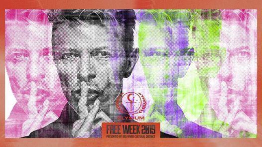 Free Week 80s Nite Bowie B-Day