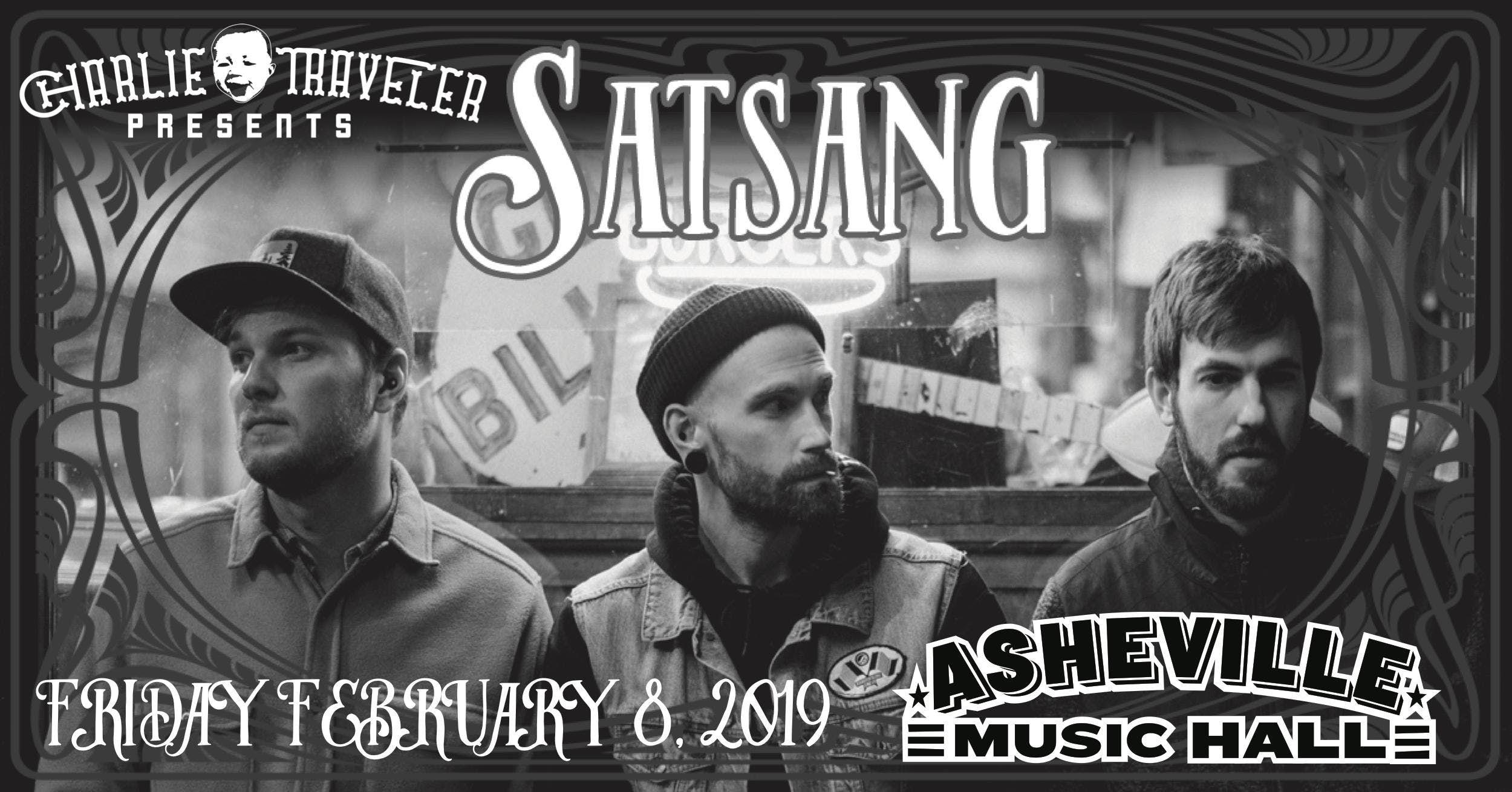 CHARLIE TRAVELER PRESENTS An Evening with Satsang - [folk  soul  indie  hip hop]