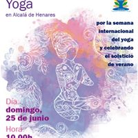 Da Internacional del Yoga en Alcal